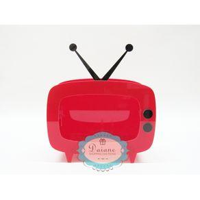 televisao-em-acrilico-vermelha