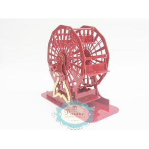 roda-gigante-em-acrilico-vermelho-40cm